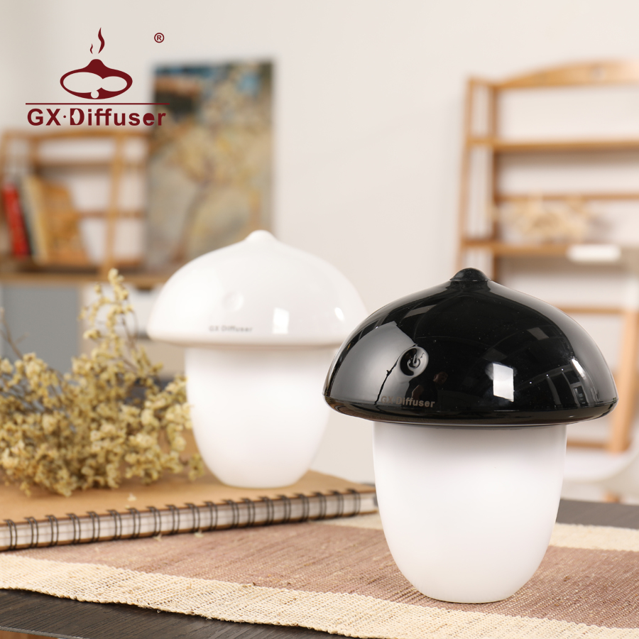 LED Night Light for Home Kids Mushroom Cute Creative Sleeping Nightlight Desk Lamp Decoration Mini Warm For Bedroom - 3