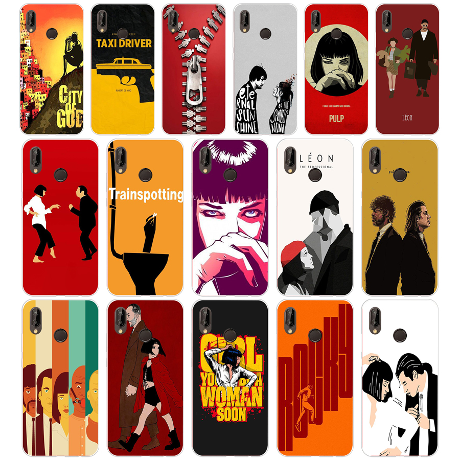 284Written And Directed By Quentin Tarantino Soft <font><b>Silicone</b></font> Tpu Cover <font><b>Case</b></font> for <font><b>Honor</b></font> <font><b>10</b></font> huawei p mate <font><b>10</b></font> 20 lite y5 y6 prime 2018 image