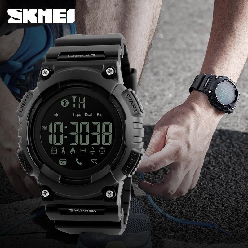 SKMEI Brand Waterproof Fashion Smart Watch Men Sport Analog Quartz-Watch LED Digital Chronograph Watches relogio masculino 2017