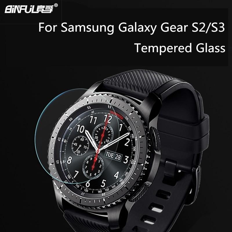 Chegada nova 0.26mm 2.5D 9 H Vidro Temperado Para Samsung Galaxy Gear - Peças e acessórios para celular