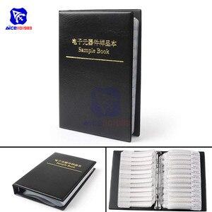 Image 1 - 0805 1% SMD 칩 SMT 저항기 170 값 견본 책 모듬 된 장비 칩 고정 저항기 0R  10M Ω/Ohm 칩 저항