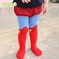 Super hero niños niñas medias medias niños medias bebé ropa niñas medias de las medias de los niños del niño para 0-3y