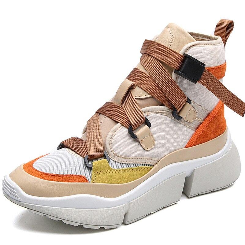 Platfroms De Mode Décontractées Femmes Conasco Talons Sneakers Appartements Conception Bottines Classique 2 Sport Boucles Femme Chaussures 1 Printemps dhrCstQx