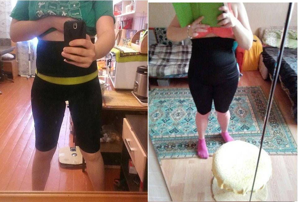 (Spodnie + Pas) hot shaper body frezarki talia trener majtki wyszczuplające spodnie i pasy super stretch neopren bryczesy dla kobiet 10