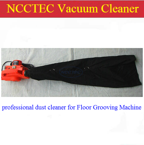 portable backpack vacuum cleaner dust suction collection tool special for floor grooving machine slotting cutting machine