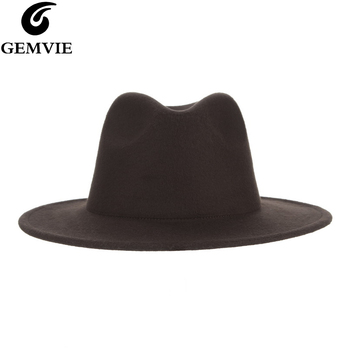 Classical All-match Coffee Fedora