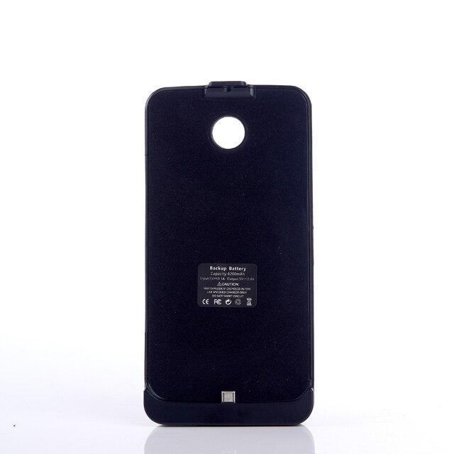 4200 мАч Черный Зарядное Устройство Резервного Копирования Дело Капа для Lg Google Nexus 6, Moto Nexus6, Shamu, XT1100, XT1103 Powerbank Чехол