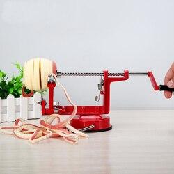 스테인리스 스틸 3 1 애플 필러 과일 필러 슬라이싱 기계/애플 과일 기계 껍질을 벗긴 도구 크리 에이 티브 홈 주방