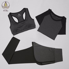 New Women Yoga Set Fitness Clothing Sportswear For Female Workout Sports Clothes Athletic Running Yoga Suit Sets Leggings Pants