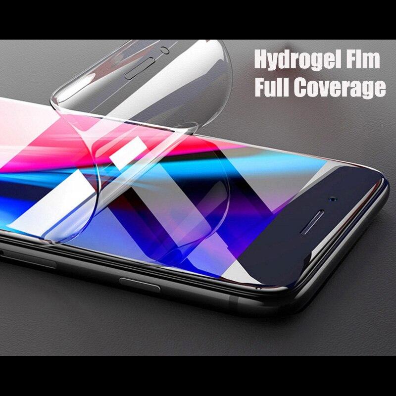 Hidrogel Protetor de tela Film Para Samsung Galaxy Note 8 9 3D Cobertura Integral Para Samsung S9 S10 S8 S7 S6 borda Mais Película Protetora