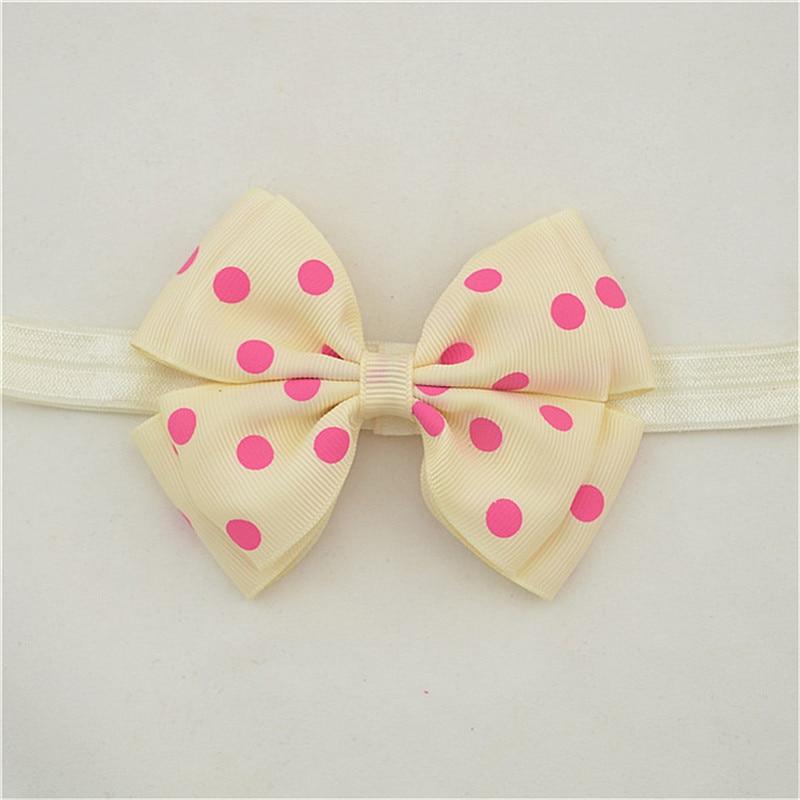 Baby meisjes haarelastiekjes hoofdbanden peuter boog roze kinderen - Babykleding - Foto 5