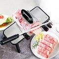 ST209 冷凍肉カッター家庭用マトンロールスライサー肉ロールスライサー小さな牛肉かんなマニュアル野菜カッター鍋スライサー