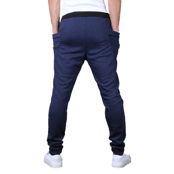 Unique Pocket Mens Joggers Cargo Sweatpants 1