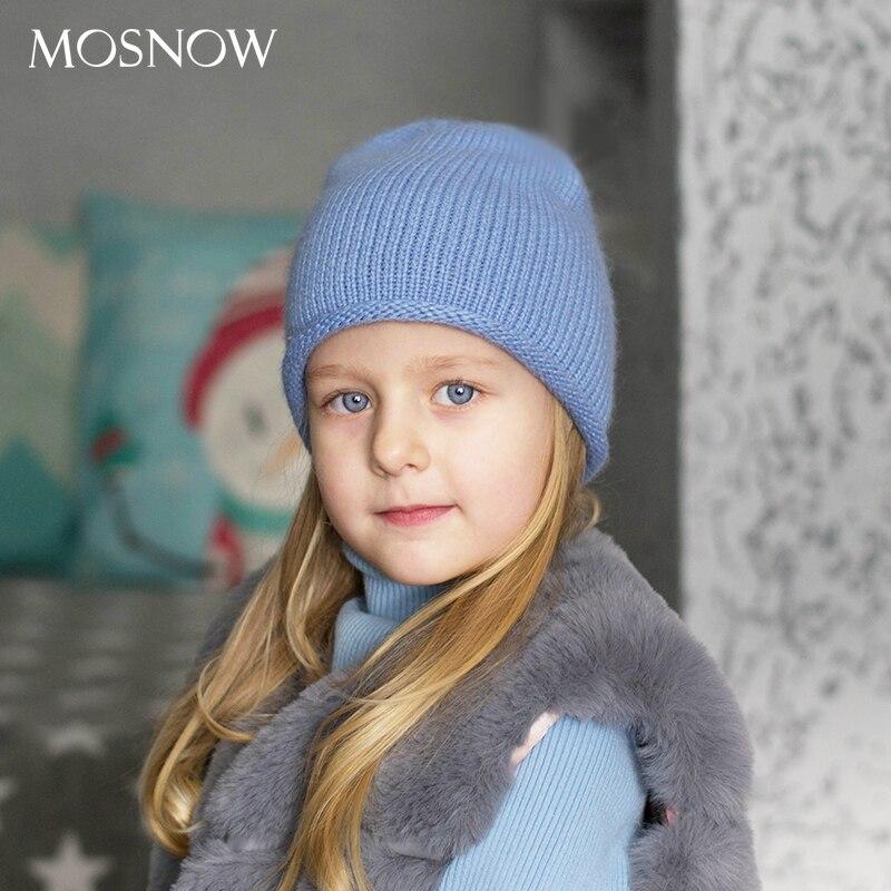 Hat Beanies Winter Baby Wool Warm Girls Boys Kids Unisex Children New Cap