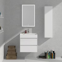 600mm Bathroom Furniture Free Standing vanity Stone Solid Surface Blum Drawer Cloakroom Wall Hung Cabinet Storage 2223