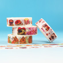 1PC Masking Paper Tapes Japanese Washi Tape DIY Scrapbooking Sticker Stationery School Supplies Papeleria(China)
