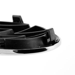 OEM 132 мм Хромированная передняя решетка радиатора Эмблема 5K0 853 601 C автомобильные аксессуары значок Логотип Замена для Фольксваген Гольф MK6