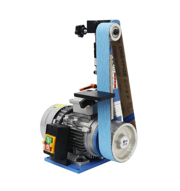 220V Desktop Polishing grinding machine Belt Sander Wood sander tool sharpener 25 762mm electronic belt sander polishing machine