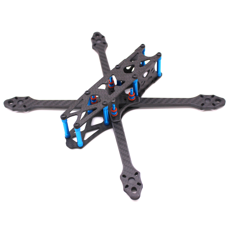 Image 2 - Strech X5 Freestyle FPV Frame 6mm Arm Racing Quadcopter Frame Kit like X5 JohnnyFPV edition for 5 inch prop 22XX motor-in Parts & Accessories from Toys & Hobbies
