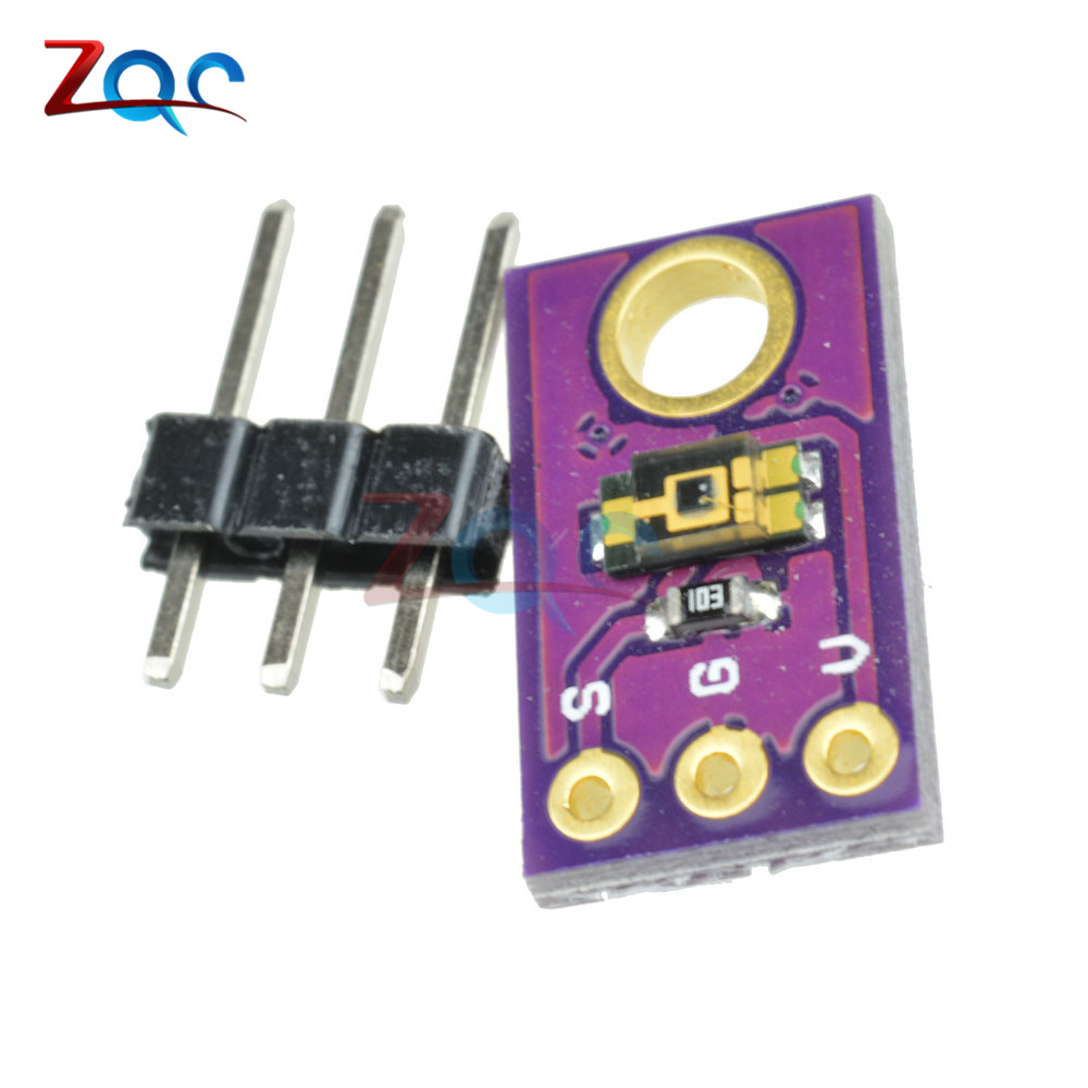 1Pcs TEMT6000 Light Sensor TEMT6000 Professional Light Sensor Arduino New Ic ox