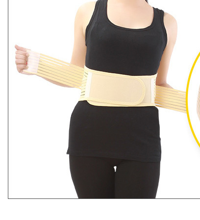 Self-heating Magnetic Therapy Belt Lumbar Disc Strain Herniation Warm Back Pain Health Waist Maintenance Joint Body Care waist belt protection strain prominent self heating warm uterus steel plate support decompression waist back pain care men women