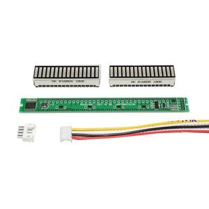 Image 4 - Стереоусилитель Singel, 32 уровня, VU метр, плата, индикатор музыкального спектра, Регулируемый светильник с AGC