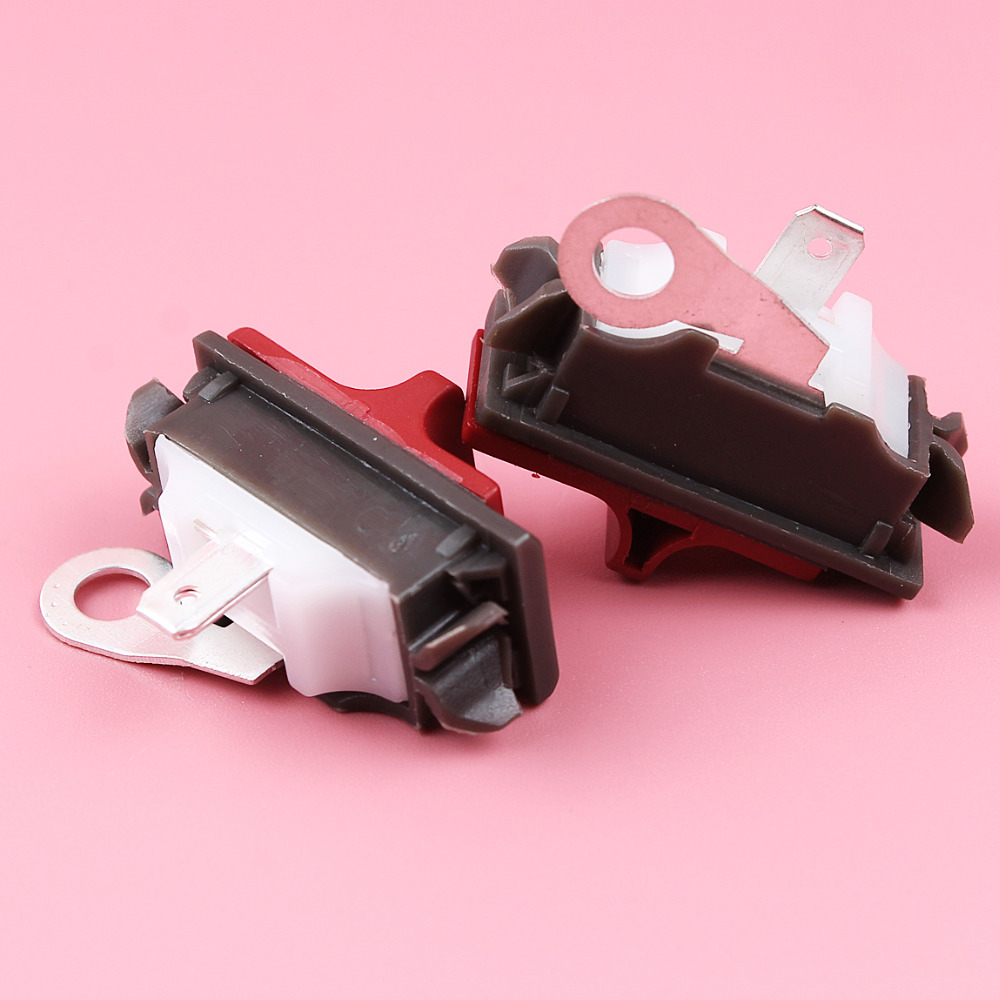 2pcs On-off Stop Switch For Husqvarna 36 41 50 51 55 61 66 136 141 181 254 257 266 268 272 281 288 394 395 Chainsaw Parts