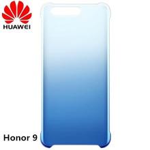 Оригинальный Huawei Honor 9 Красочные Прозрачный чехол для телефона, ПК Красочные Защитная крышка Shell для Honor девять смартфон