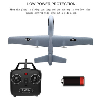 RC Airplane Plane Z51 with 2MP HD Camera or No Camera 20 Minutes Fligt Time Gliders With LED Hand Throwing Wingspan Foam Plane 1