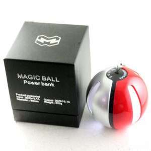Image 1 - 10000mAh Magic ball ชาร์จโทรศัพท์มือถือ power bank สำหรับ Android millet apple Samsung โทรศัพท์มือถือนาฬิกาพัดลม USB charger