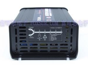 Image 1 - FOXSUR 12 V 10A שלבים חכם מטען לסוללות עופרת חומצה, מטען סוללות לרכב, controll MCU, תשלום דופק מתחזק & Desulfator