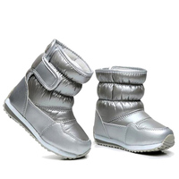 Children S Rubber Boots For Girls Boys Mid Calf Bungee Lacing Snow Boots Waterproof Girls Boot