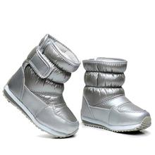 Dzieci gumowe buty dla dziewcząt Boys Mid-Calf bungee sznurowanie Snow Buty wodoodporne dziewczyny buty sportowe butów futro podszewka dzieci Boot tanie tanio Płaskie z 7-9Y 4-6Y 13-14Y 10-12Y Platformy Zima Zaczep pętli Okrągły palec Z ULKNN Pasuje do mniejszych niż zwykle Sprawdź informacje o rozmiarach tego sklepu