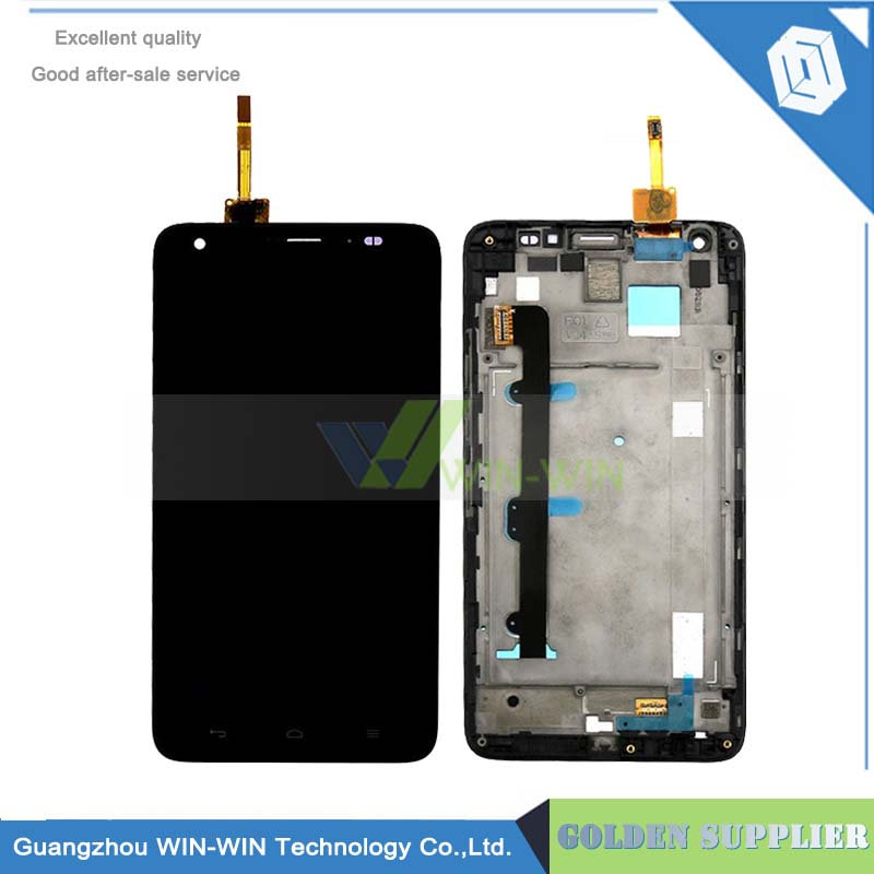 White/Black For Huawei Honor 3X G750 LCD Display Touch Screen With Digitizer Assembly +Frame Replacement Free Shipping