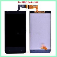 100% Warranty Working Replacement Full LCD Display Touch Screen Digitizer Assembly For HTC Desire 300 Free Shipping