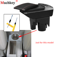 Armrest box For Volkswagen VW jetta mk5 Golf mk5 6 2005 2011 central Console Arm Store content box cup holder ashtray Car parts
