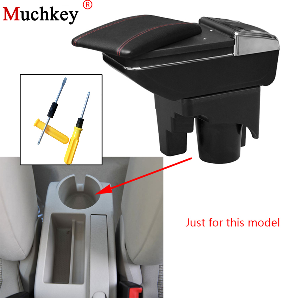 Armrest box For Volkswagen VW jetta mk5 Golf mk5 6 2005-2011 central Console Arm Store content box cup holder ashtray Car parts universal leather car armrest central store content storage box with cup holder center console armrests free shipping