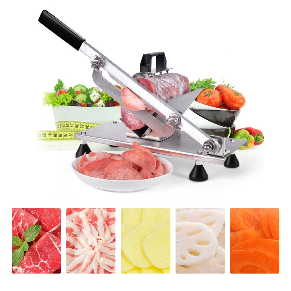 Feed Meat Lamb Slicer Home Hand Beef Multi-Functional Mini Planer Meat Cutting Machine Frozen Meat Commercial Meat Grinder