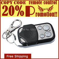 promotion wireless universal RF transmitter duplicator/4 channel radio frequency garage door remote control at 433MHz