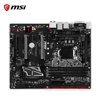 MSI GAMING Z170A PRO de CARBONO Original Utilizado DDR4 Z170 Socket LGA 1151 i3 i5 i7 Placa Base de Escritorio 64G SATA3 ATX