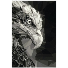 Mosaic Diamond Embroidery 5D DIY Painting Black and white eagle head pattern Cross Stitch Handicraft decorative painting