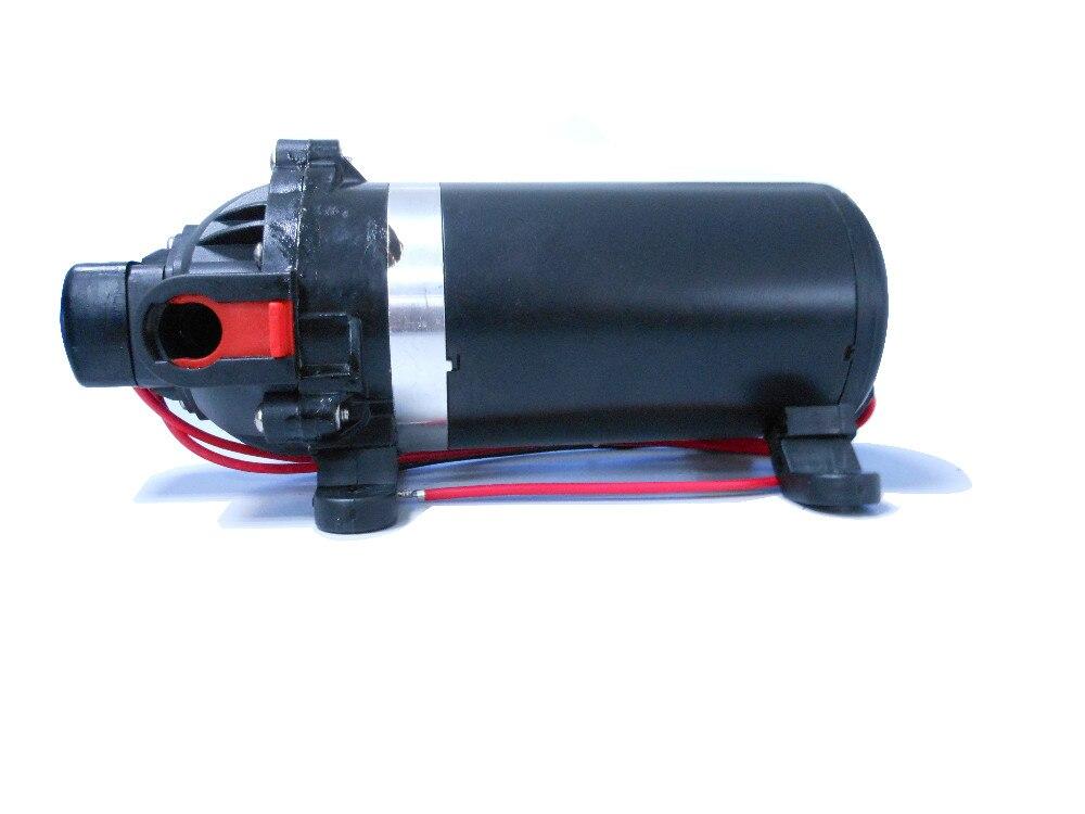 DC 24V Self-priming Diaphragm Pump 60PSI Pressure Pump 6LPM RV//Caravan//Boat