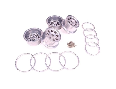 Metal Baja 5T 5SC wheel hub set for 1/5 HPI Baja 5T/5SC Parts Rovan KM cardigan 852161 flywheel magneto fits 23cc 26cc 29cc 30 5cc cy fuelie engine for 1 5 hpi baja 5b 5t sc km rovan rc car toy parts