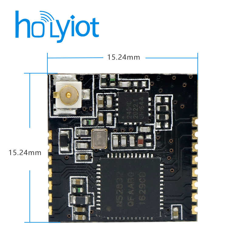 Detail Feedback Questions about Holyiot Nordic nRF52832 PA