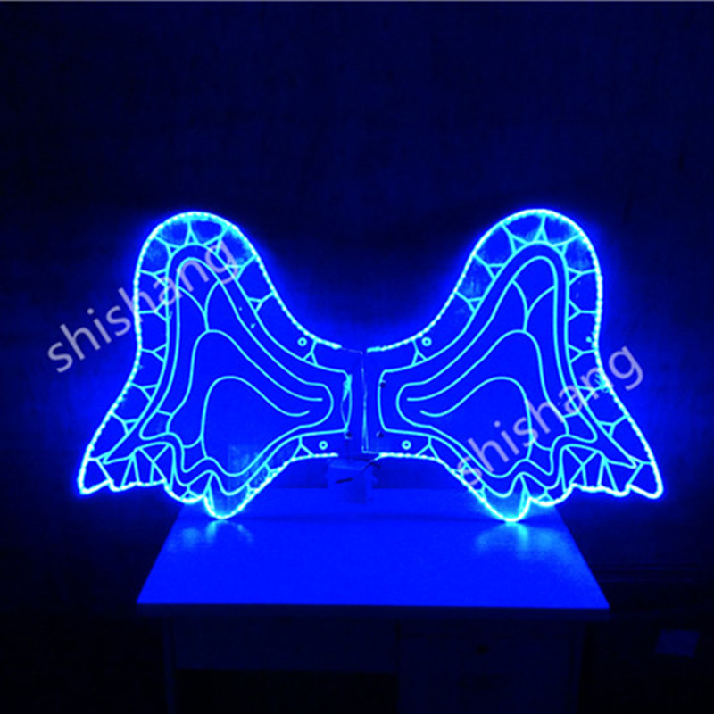 CY01 <font><b>LED</b></font> butterfly <font><b>wing</b></font> belly dancing costumes party stage dress ballroom dj disco <font><b>LED</b></font> lights luminous <font><b>wings</b></font> glowing cloth suit