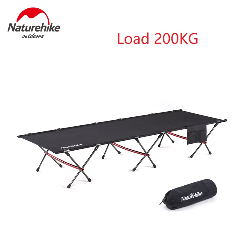 Brand Naturehike 2019 New Camping Mat Sturdy Comfortable Portable Folding Tent Bed Cot Sleeping Outdoor Camping Bed