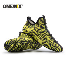 Onemix new indoor shoes indoor running sneakers slippers sports socks slippers at home socke-like driving shoes yoga shoe(China)