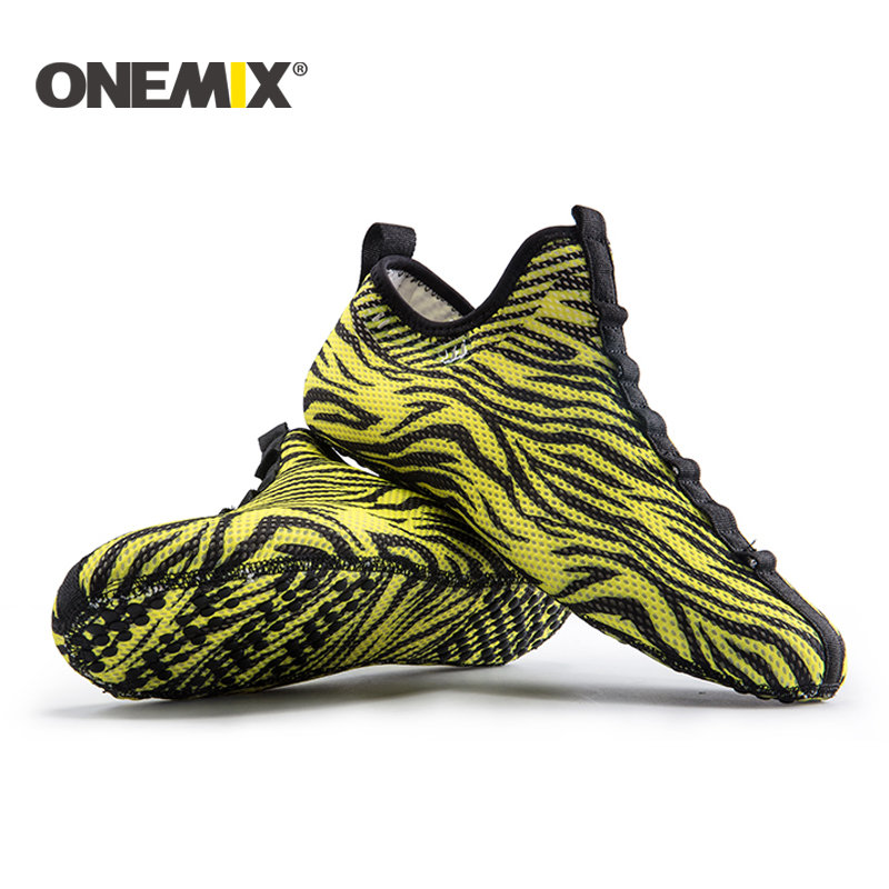 Onemix new indoor shoes indoor running sneakers slippers sports socks slippers at home socke-like driving shoes yoga shoe