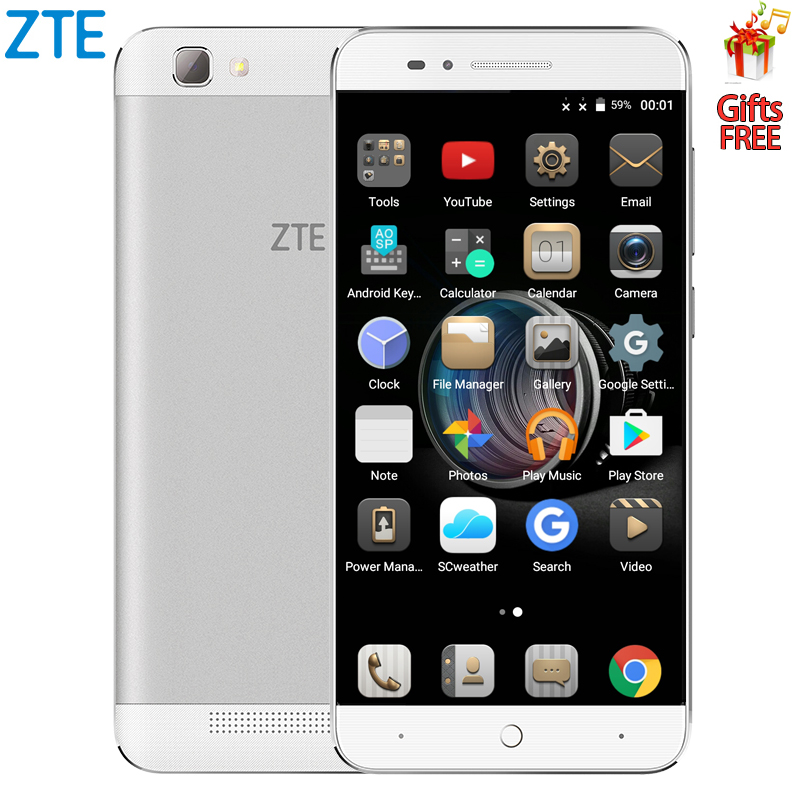 Origina ZTE BA610T Mobile Phone MTK6735P Quad Core Android smart phone  2GB RAM 8GB ROM 8.0MP 4000mAh dual sim dualOrigina ZTE BA610T Mobile Phone MTK6735P Quad Core Android smart phone  2GB RAM 8GB ROM 8.0MP 4000mAh dual sim dual