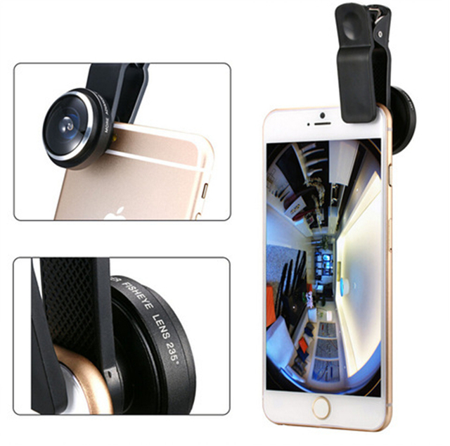 For Iphone 4 4s 5 5s 5c SE 6 6s Plus Mobile Phone Bags & Cases Fisheye Lens Phones Accessories for Ipone Iphon Fish Eye Cover